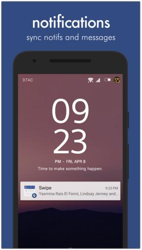 تطبيق Swipe for Facebook