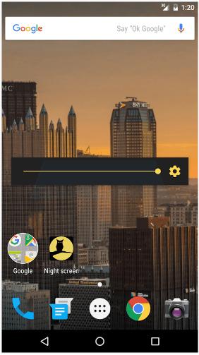 تحميل تطبيق Night screen