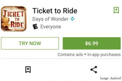 يمكنك تجربة الألعاب مجانا على متجر جوجل بلاى