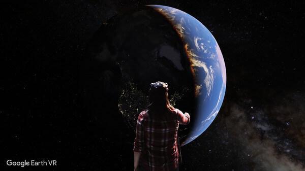 تحميل تطبيق Google Earth VR لنظارات الواقع الافتراضى