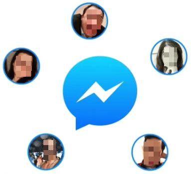 تحميل فيسبوك ماسنجر لمكالمات الفيديو الجماعية