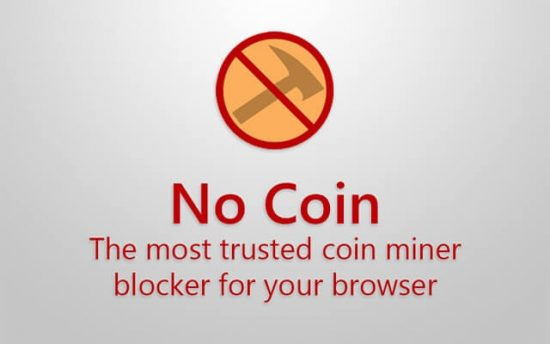No Coin Block miners