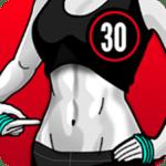 تطبيق Lose Belly Fat in 30 Days للتخلص من دهون البطن للنساء